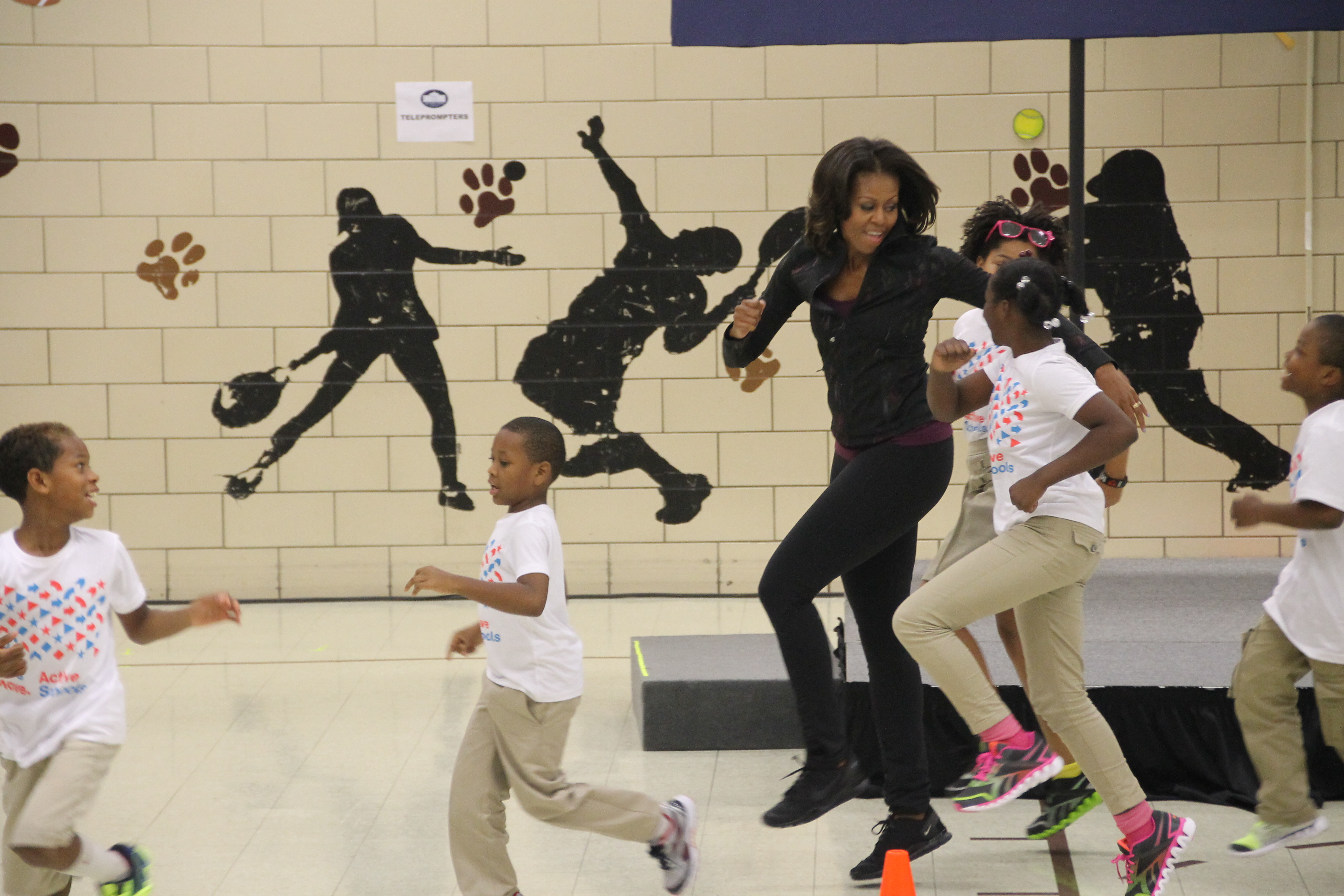 """The Beacon at Michelle Obama's """"Let's Move"""" Event"""