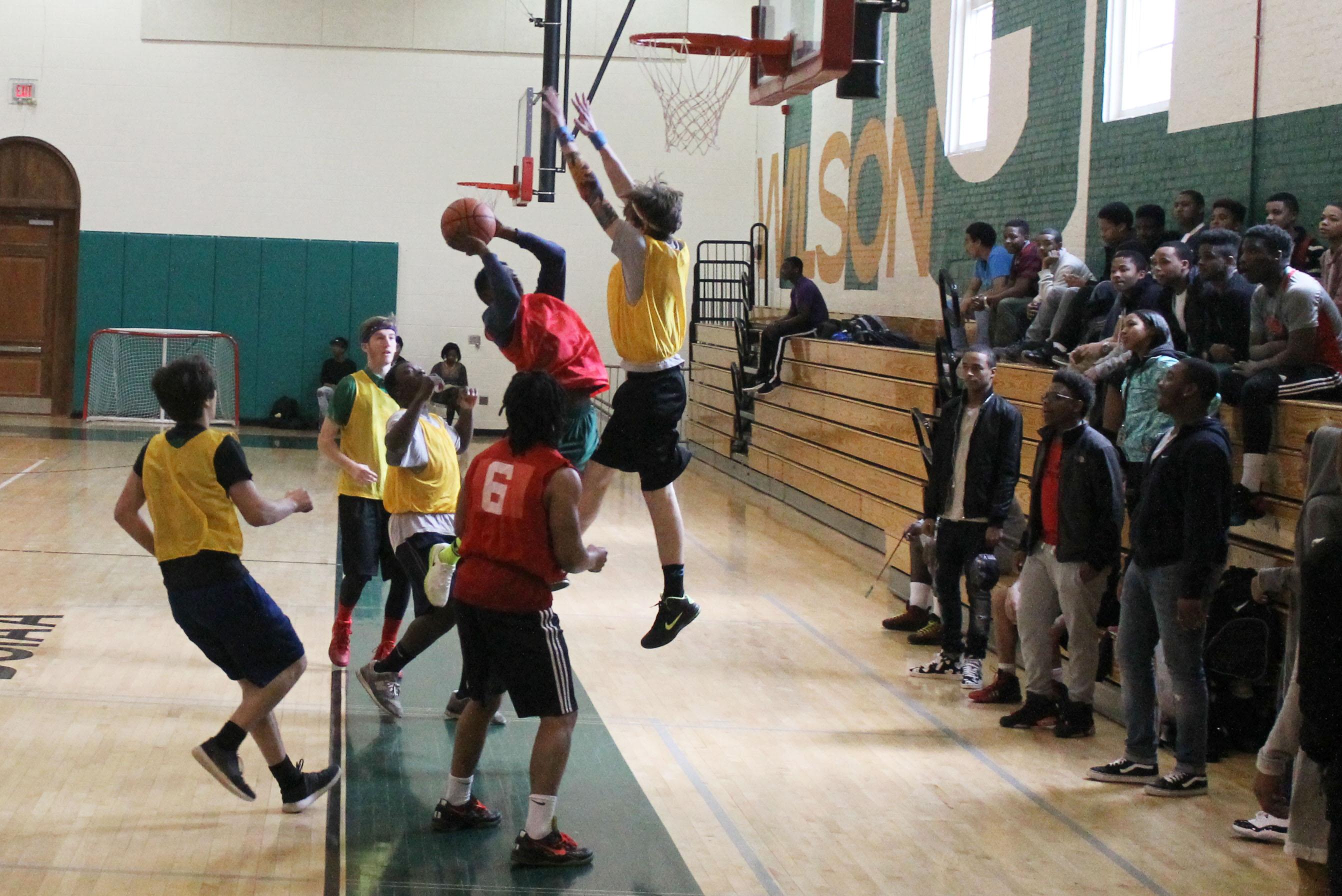 Intramural Basketball Heats Up At Wilson