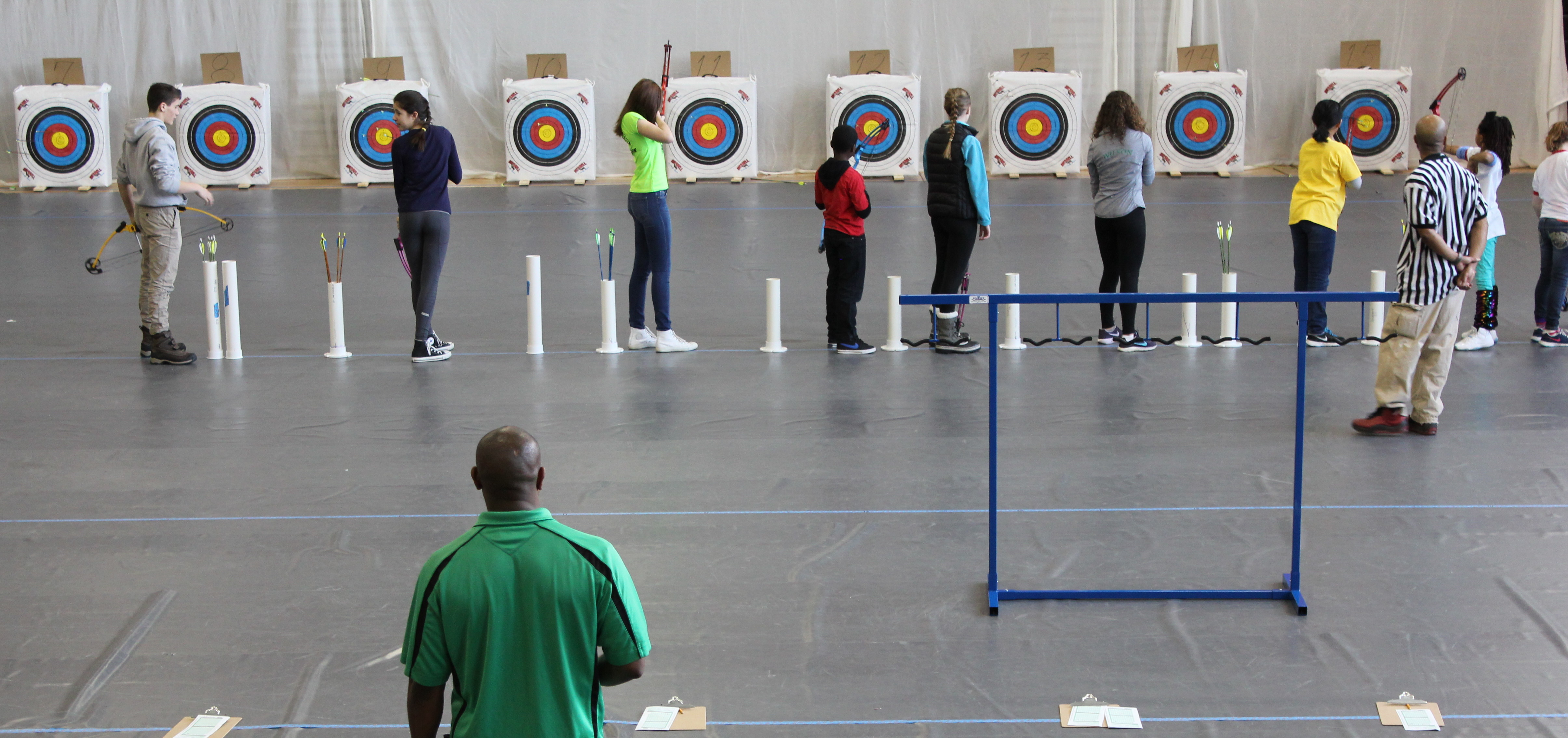 Bow to the Bows: Wilson Students Participate in DCPS Archery Tournament