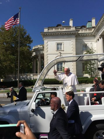 Pope visits the District