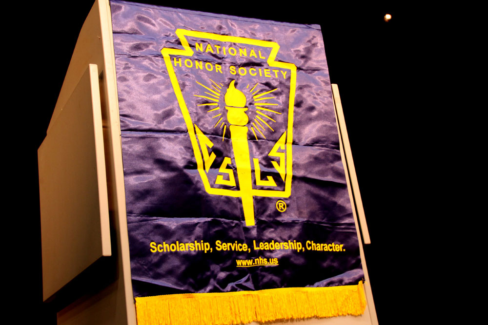 Slideshow: National Honors Society Induction Ceremony 2015