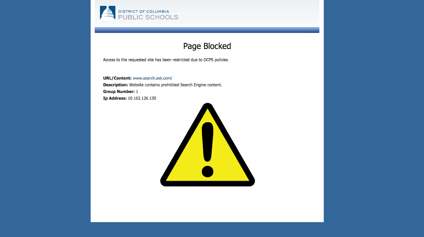 Education denied: Website blocks do more harm than good