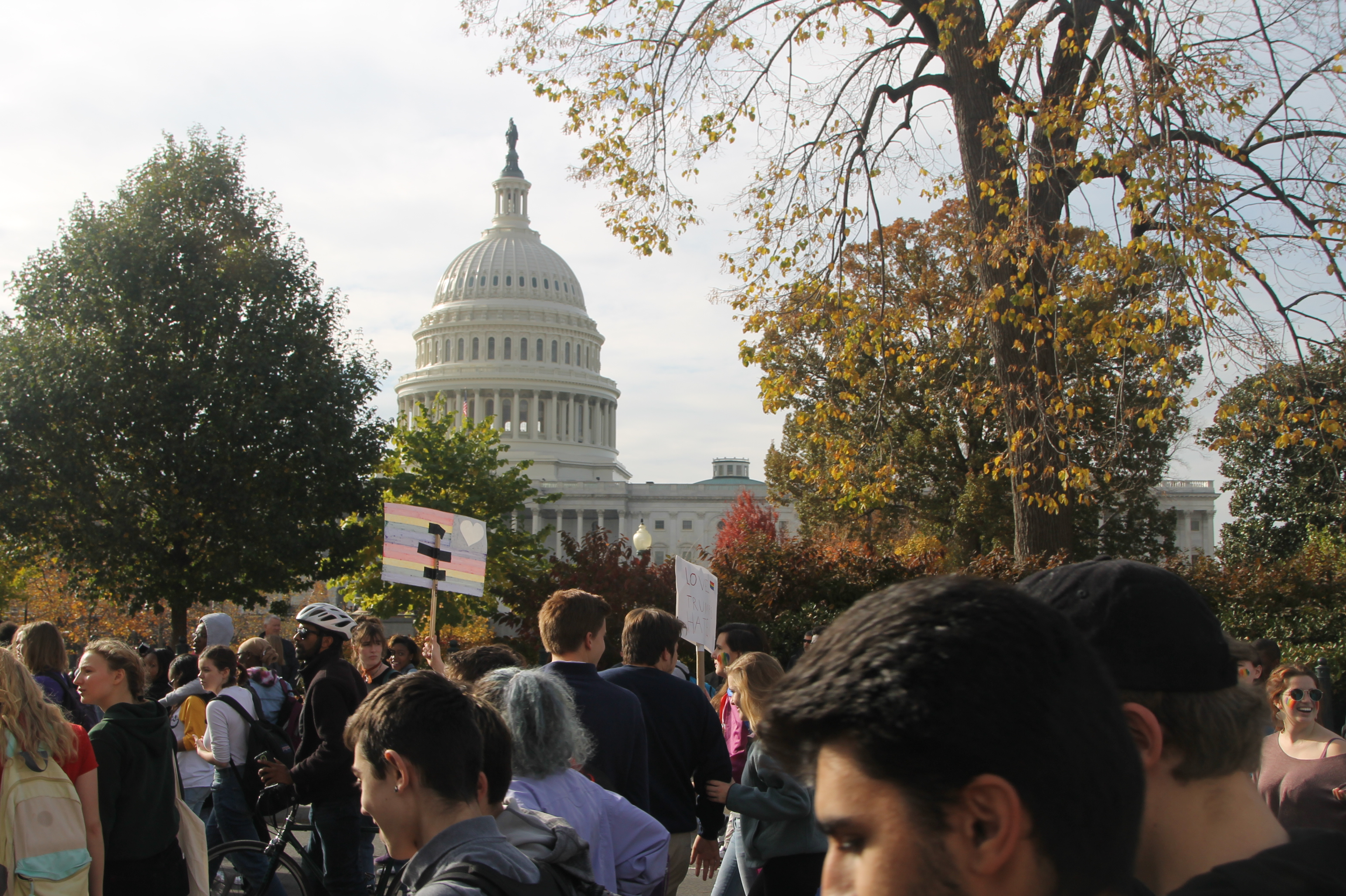 DC youth make their voices heard in peaceful demonstration