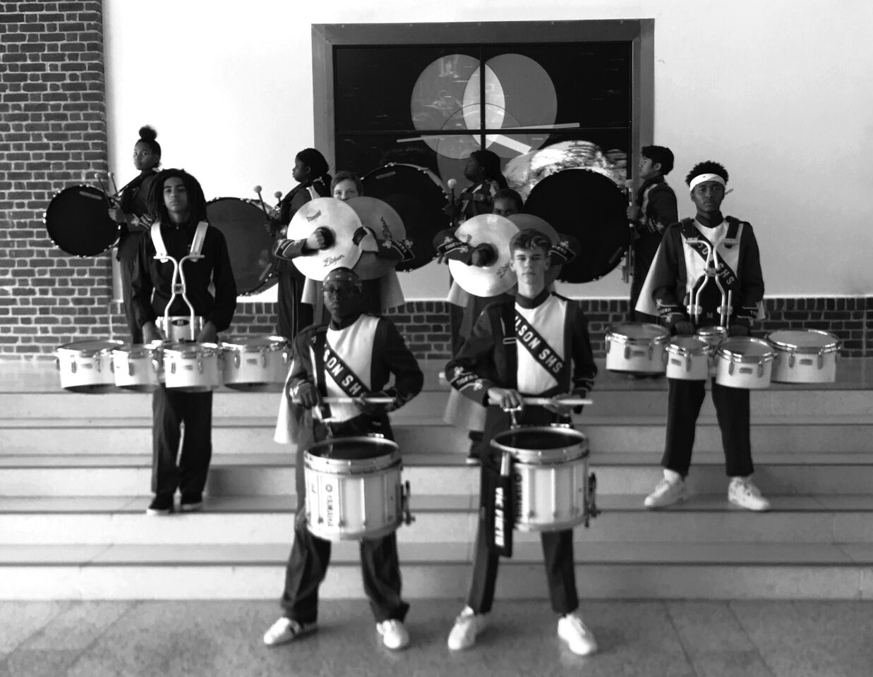Drumline marches back to center stage