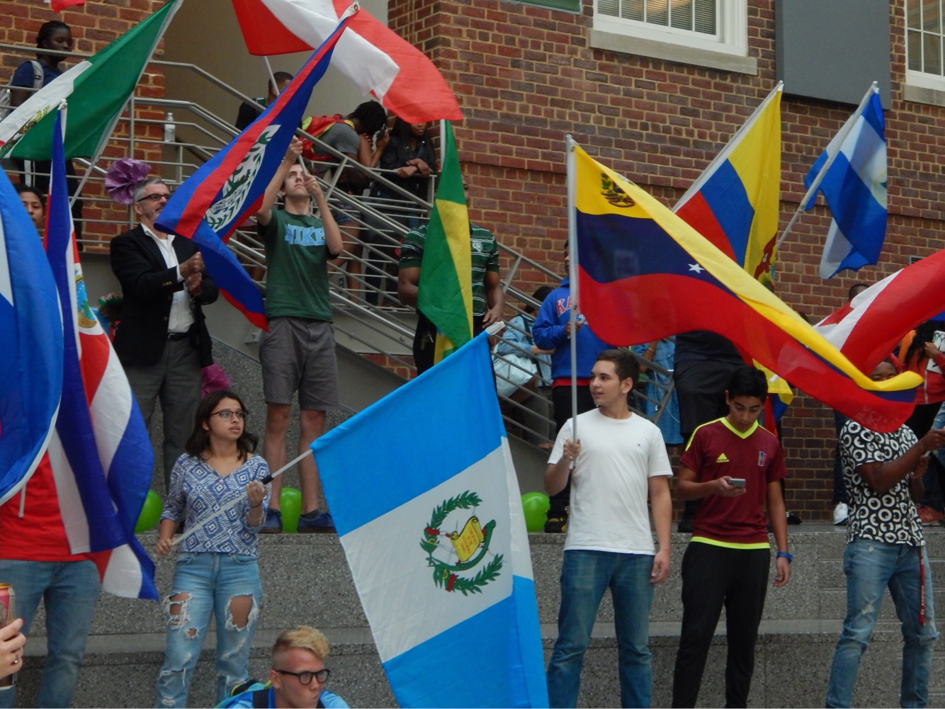 Common Ground and LAYC bring Hispanic Heritage Month to Wilson