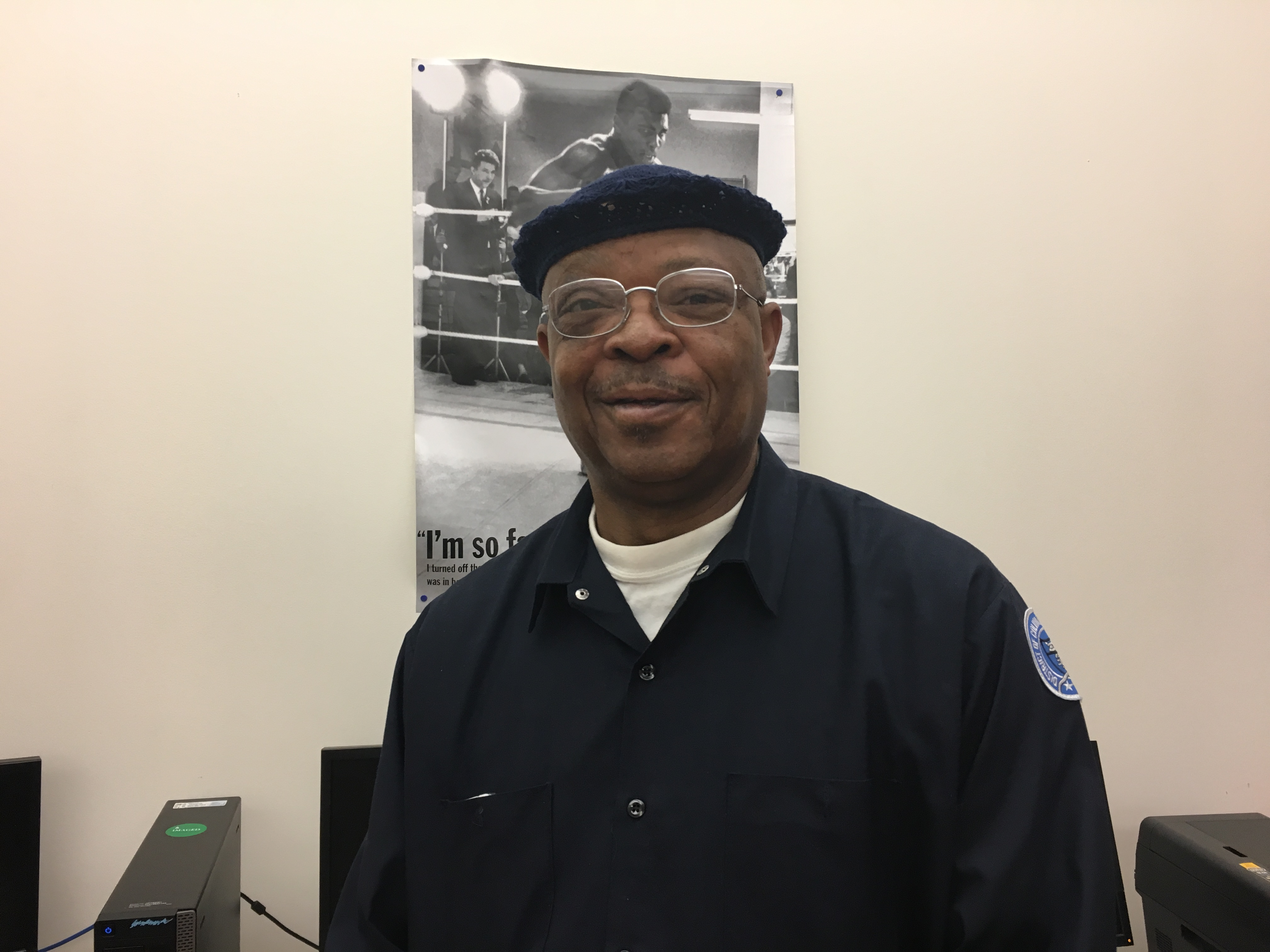 Cleaning with care: a profile on custodian Steve James
