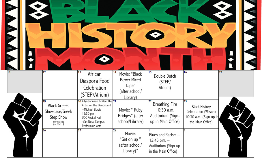 Wilson honors Black history with full month of festivities