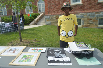 Wilson's Creative Side on Display at Arts Fest