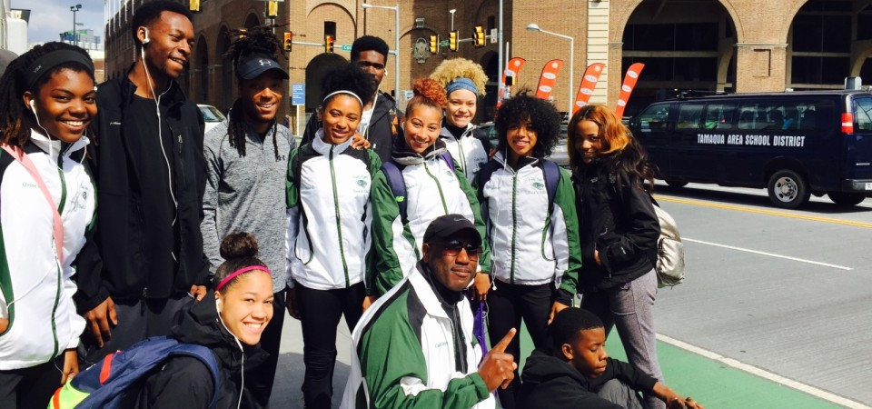 Track Team Travels to Penn Relays