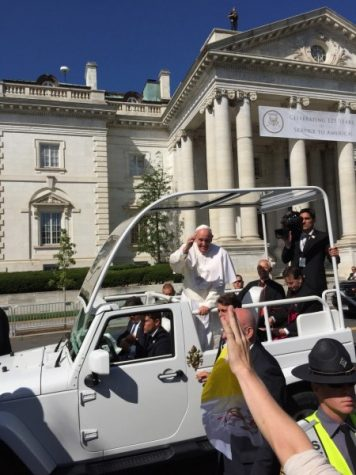 Pope in the District!
