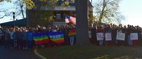 Westboro Baptist Church Protests at Sidwell Friends