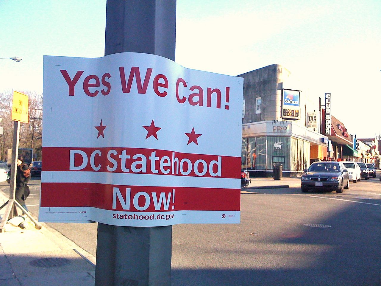 """Rally for DC statehood"" more of a lecture than a demonstration"