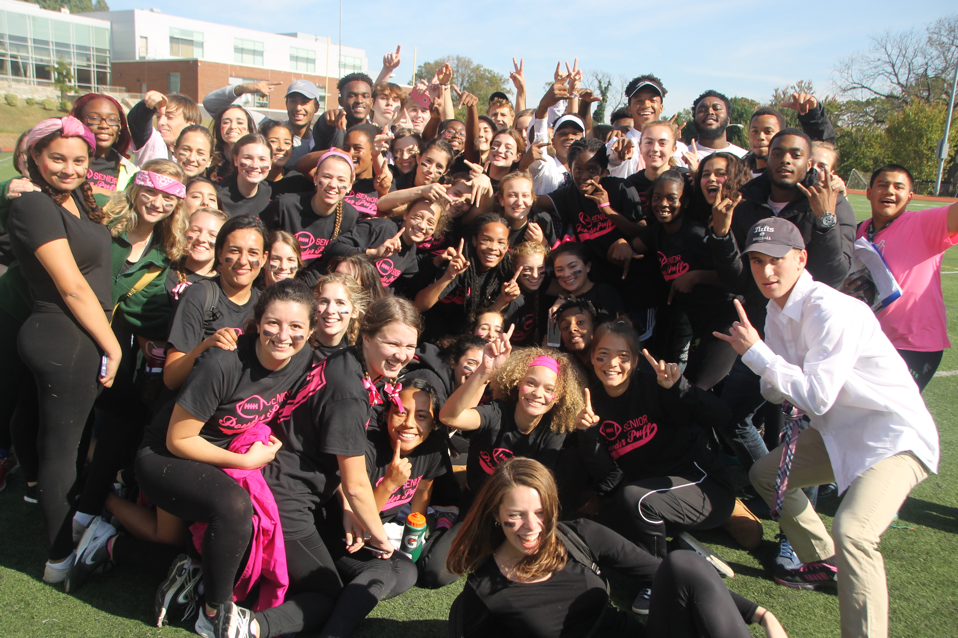 Un17ed we score: Photos from the Powderpuff game