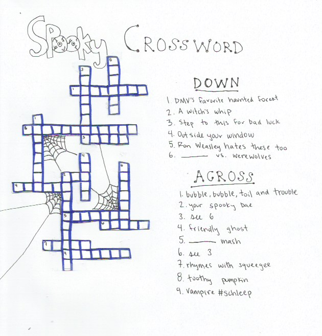 Halloween '16: Spooky Crossword Puzzle