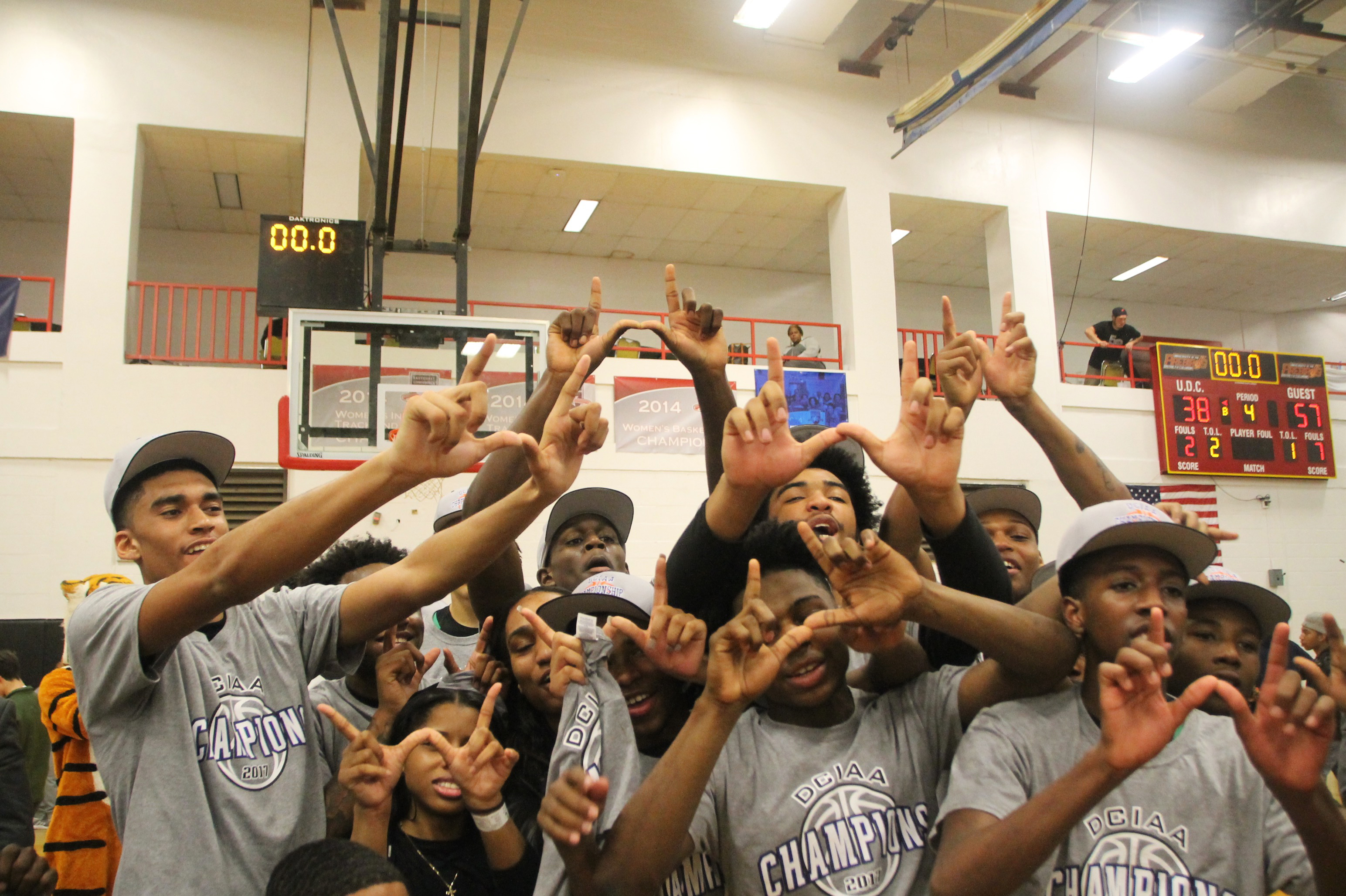 For the first time in 33 years, the DCIAA title resides at Wilson