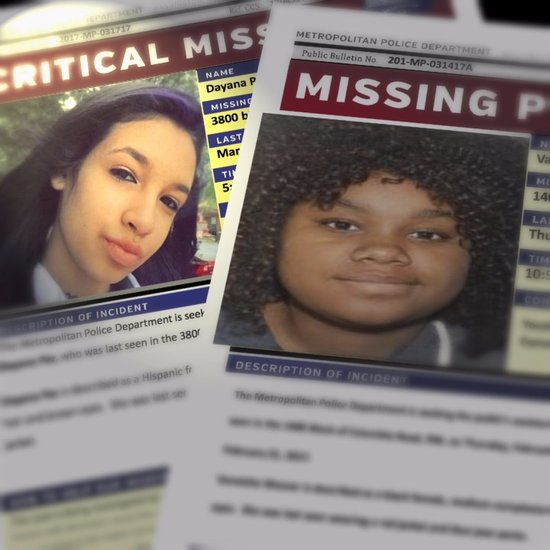 Missing girls in DC: all the facts