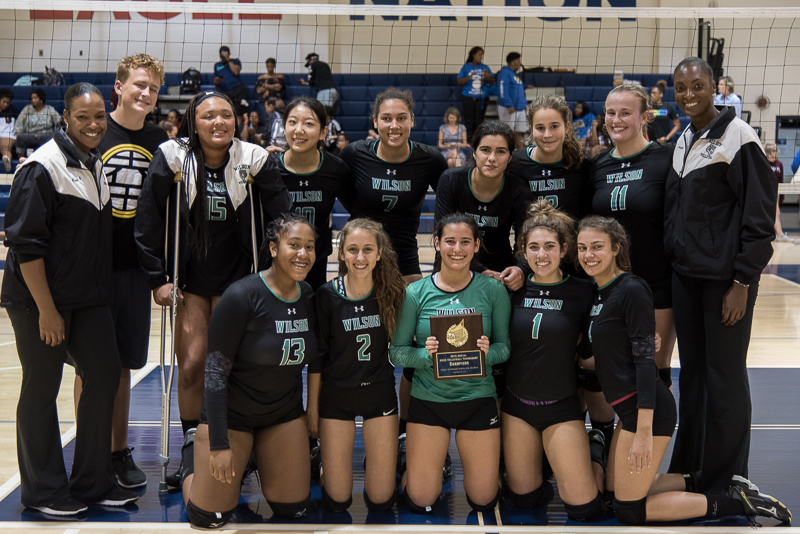 Wilson volleyball takes second in DCSAA after successful season