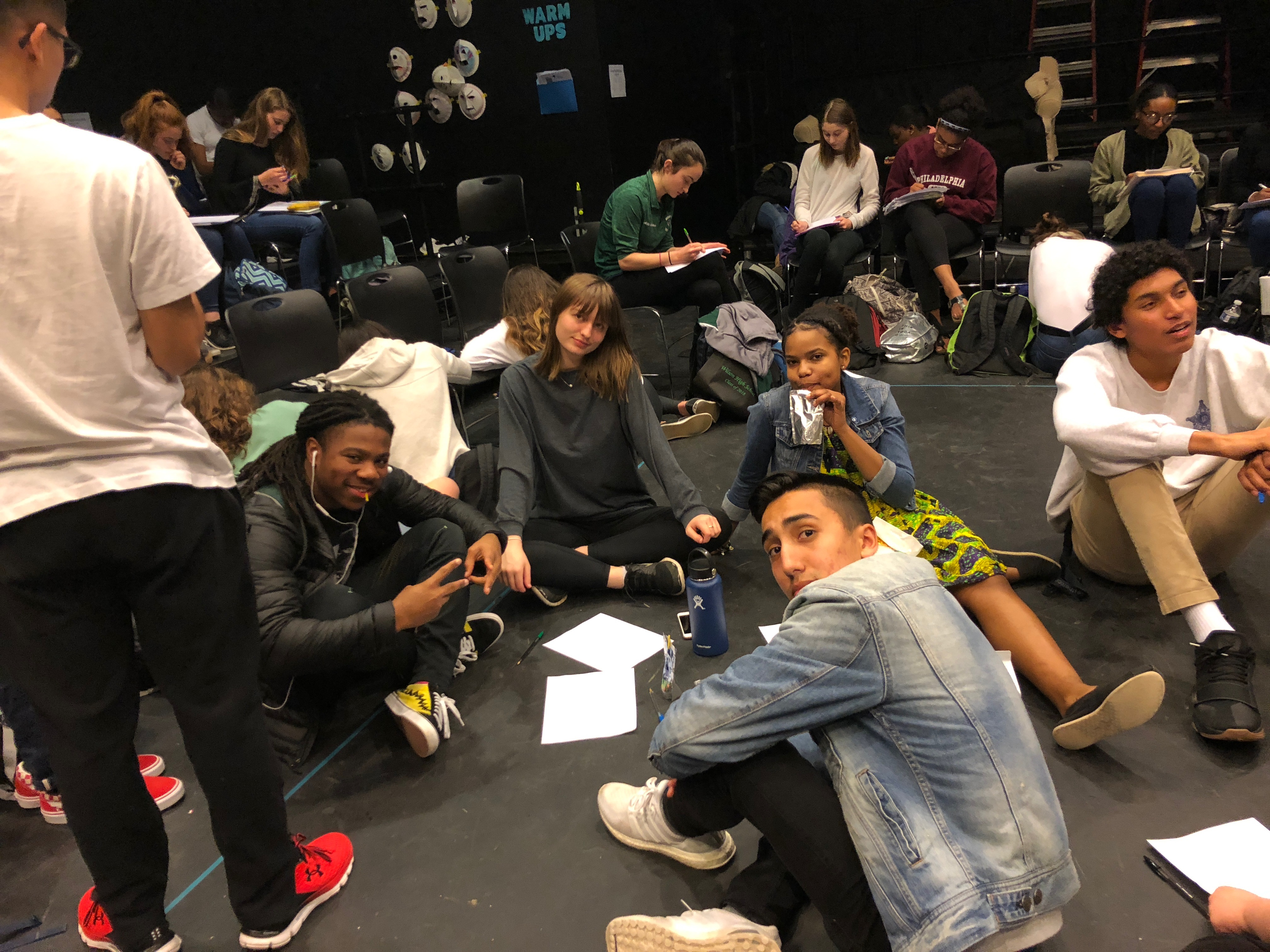 Wilson students edit poems of incarcerated men
