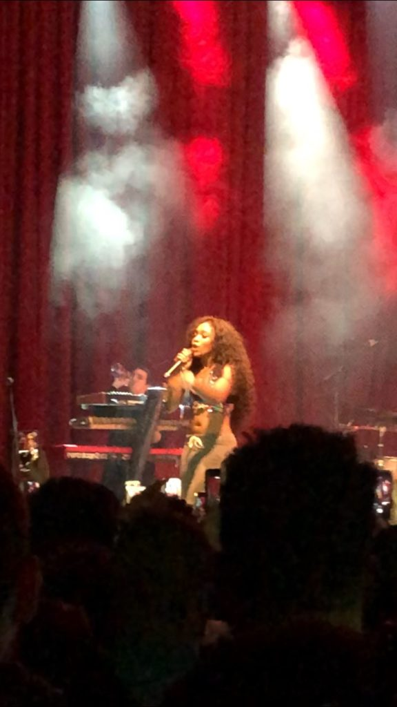SZA delivers exceptional performance