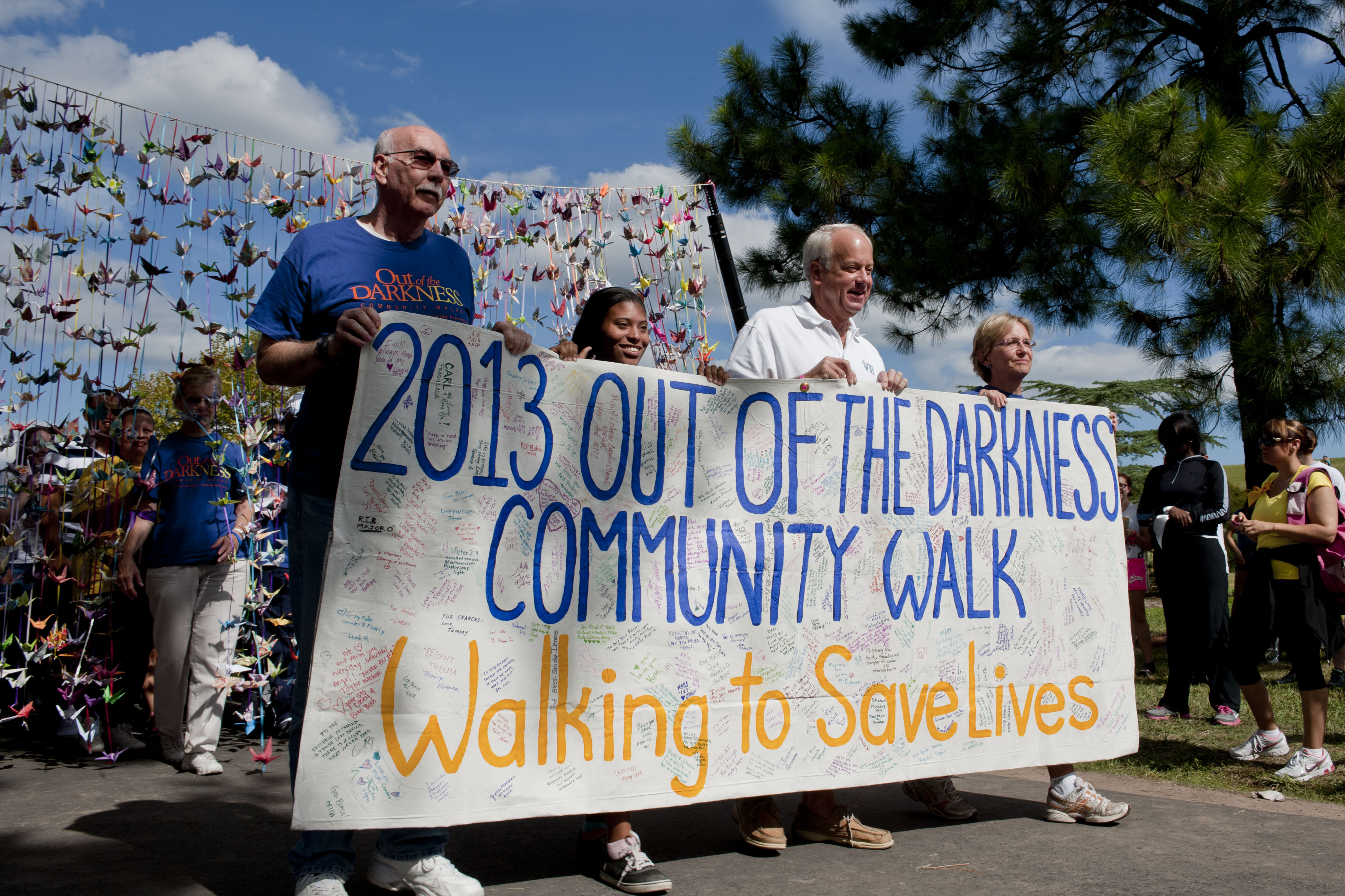 Wilson to host suicide prevention and awareness walk