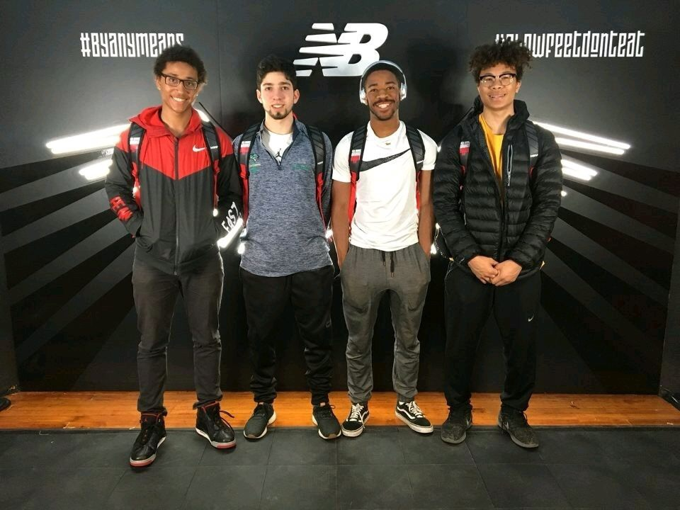 Indoor Track competes in national competition