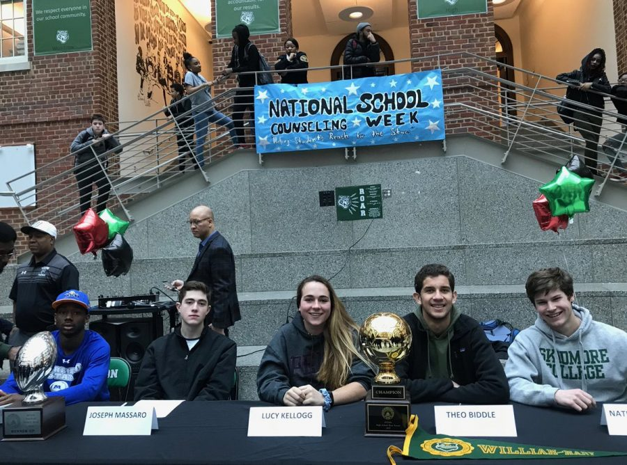 Tigers taking talents to collegiate level
