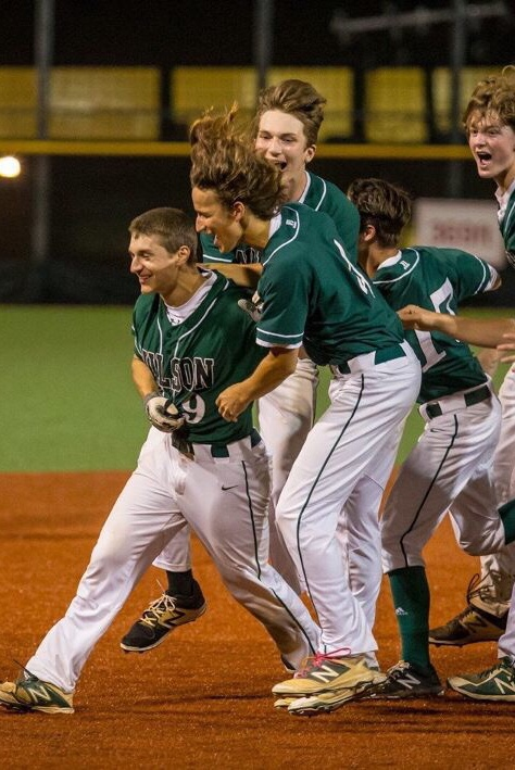 Tiger baseball lifts first ever DCSAA title