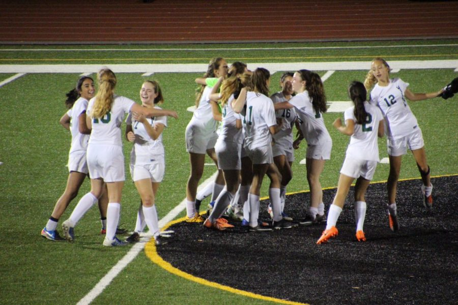 Girls soccer wins DCIAA Championship