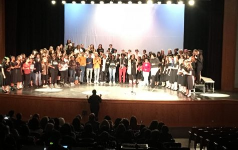 Choir comes together for festive concert