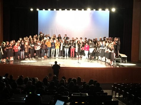 Wilson performers compete for DC-CAP scholarships