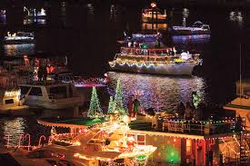 Holiday festivities at the Wharf