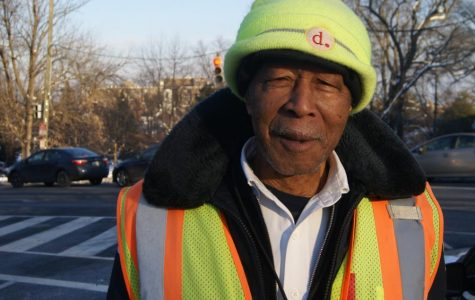 Friendly crossing guard builds rapports with Tenley students