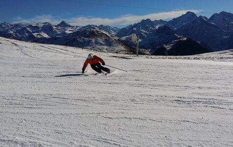 Fully sending with Wilson's skiing club