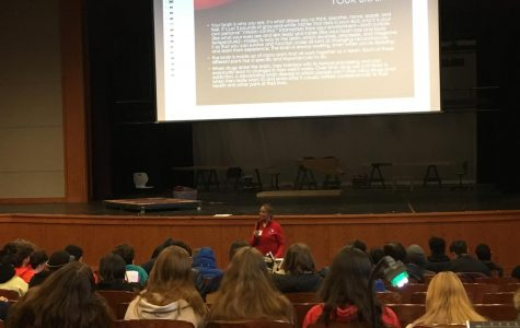 Wilson holds underclassmen assembly to address drug use