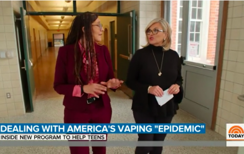 Today Show visits Wilson to film vaping segment