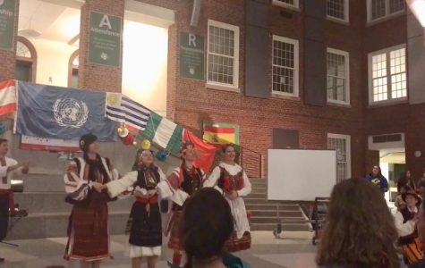Wilson hosts international night