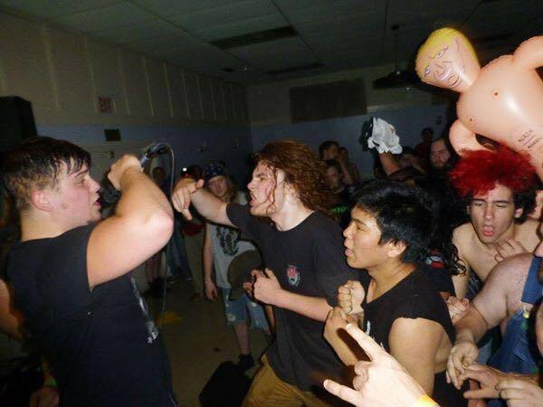 Finding chaos and community at punk concerts