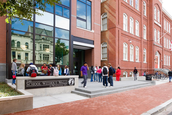 DCPS terminates new School Without Walls admissions policy that promoted diversity