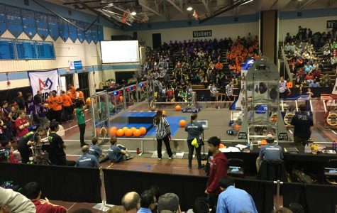 Wilson robotics team District championship qualification in contention after underperforming at tournament