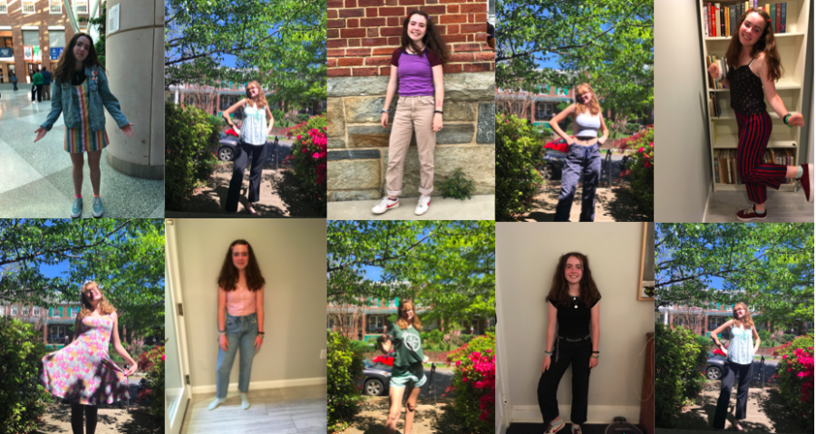 A series of spring outfits – The Wilson Beacon