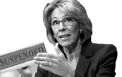 Betsy DeVos deserves an F in education policy