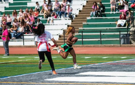 Seniors emerge victorious in stricter PowderPuff game