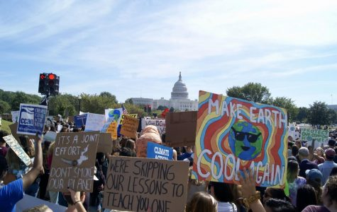 Students walk out for climate