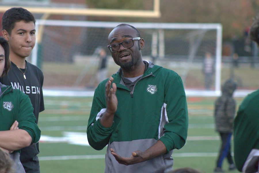 Nkongolo remains soccer coach after tumultuous season