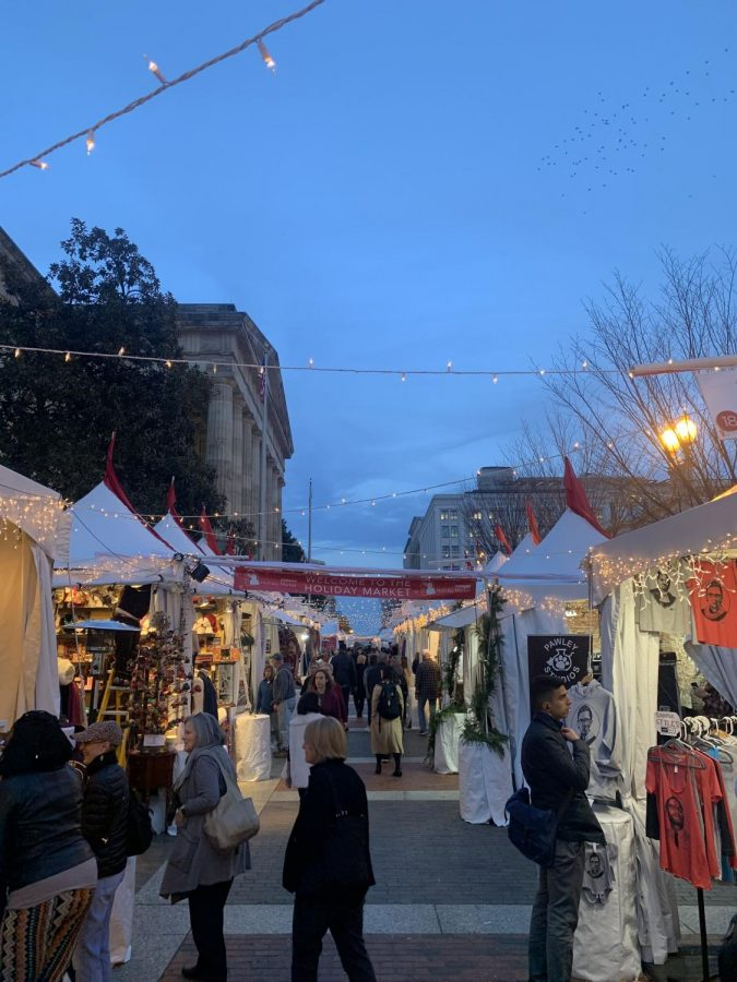 Want Harriet Tubman t-shirts? Mongolian Art? Literally anything? Check out Downtown Holiday Market