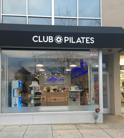 Tenley's Club Pilates is a blast