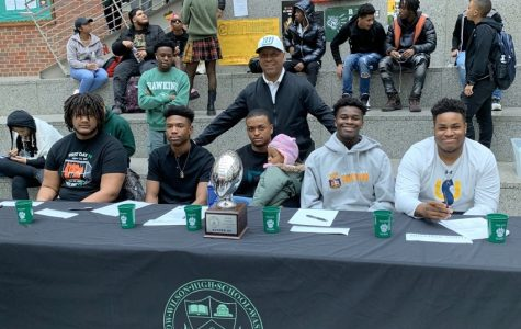 Five football players sign their Letters of Intent as Signing Day 2020 concludes