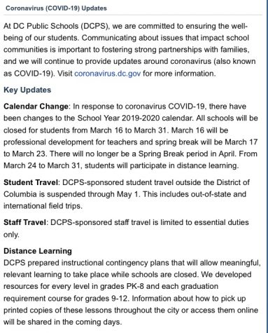 Photo courtesy of DCPS