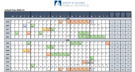 New DCPS calendar eliminates February break