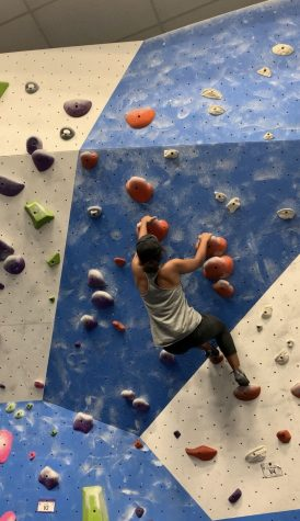 In retail and rock climbing, students mix passions and employment